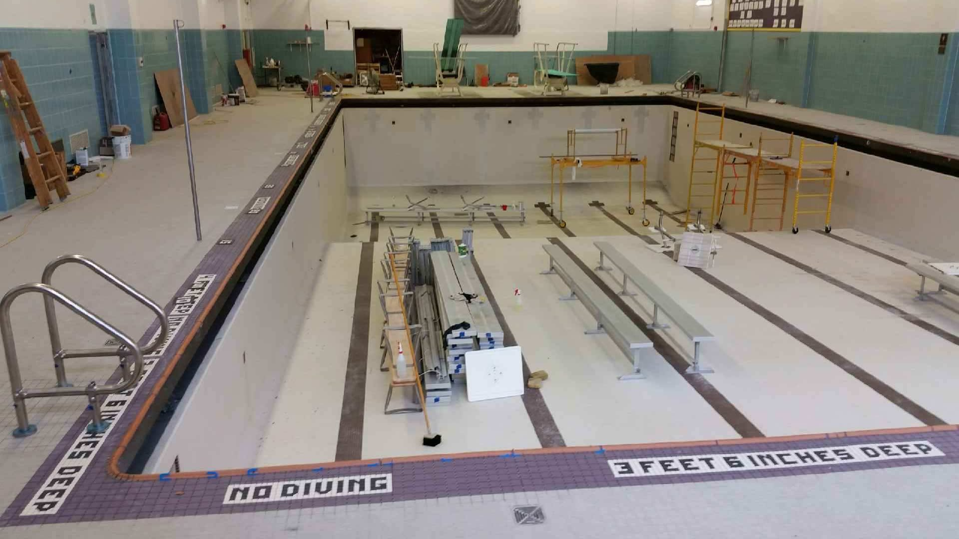 Warwick Valley CSD- Pool & Locker Room