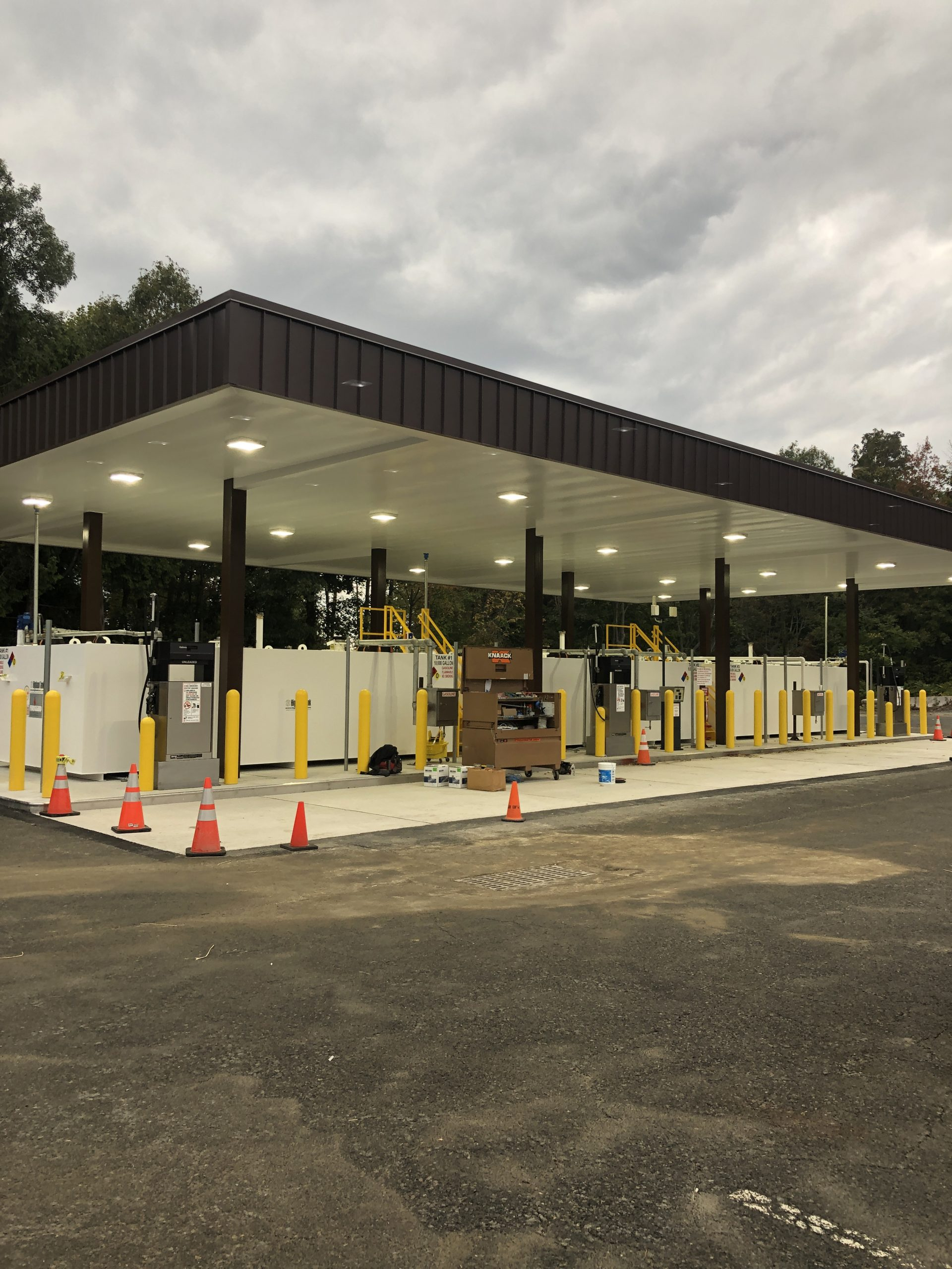 State of New Jersey- Netcong Fuel Facility Installation Project